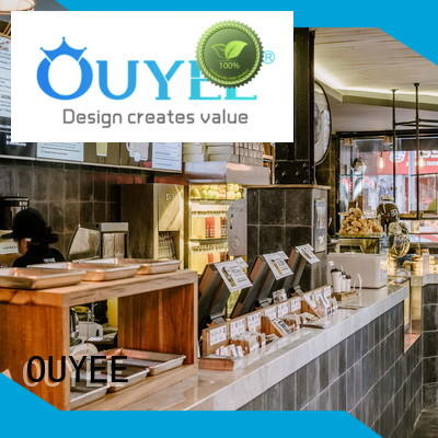 OUYEE Brand ideas furniture cafe coffee shop design manufacture
