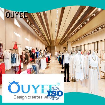 racks name OUYEE Brand boutique clothing display racks
