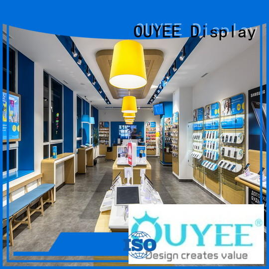 OUYEE top brand mobile accessories shop design fast delivery