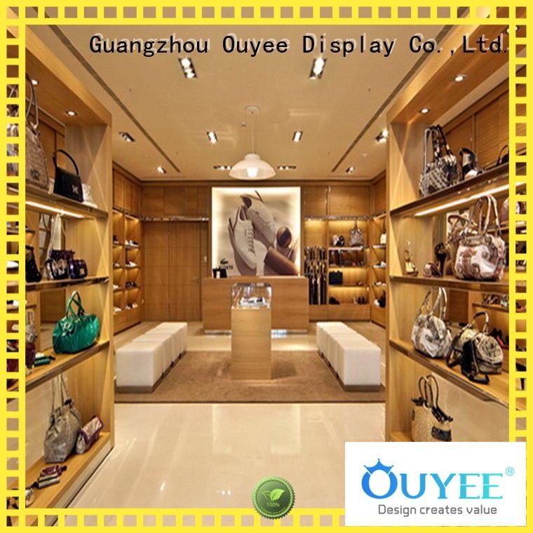 shoe cabinet furniture fixture interior wooden shoe rack designs OUYEE Brand