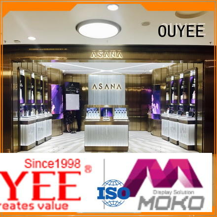 OUYEE universal mac cosmetics display at discount for wholesale