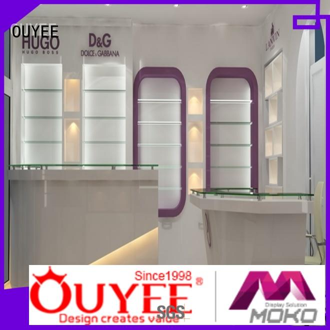 OUYEE high-quality perfume display bulk production for store