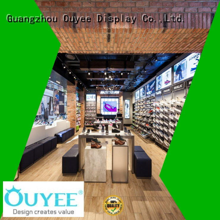 OUYEE one-stop bag display cabinet high-end for store