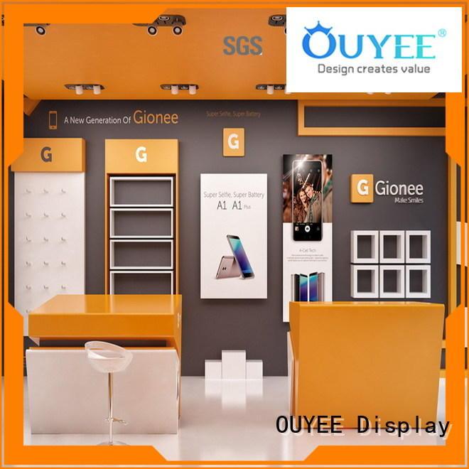 OUYEE high quality mobile shop decoration bulk production for decoration
