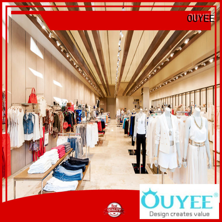 OUYEE top-selling clothing store displays universal for garment display