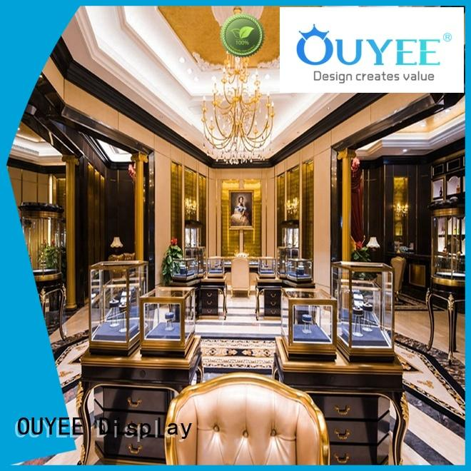 funky jewelry display boxes with lids OBM for store OUYEE