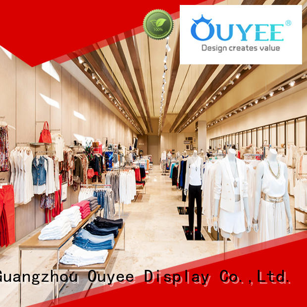 Commercial Garment Shop Interior Design Ideas OY-GSD027