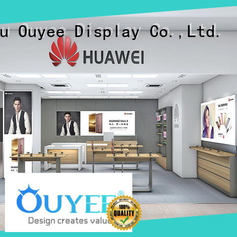 plywood mobile shop design fast delivery OUYEE
