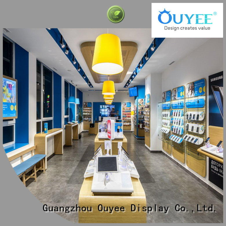 OUYEE plywood mobile repair counter design fast delivery for decoration