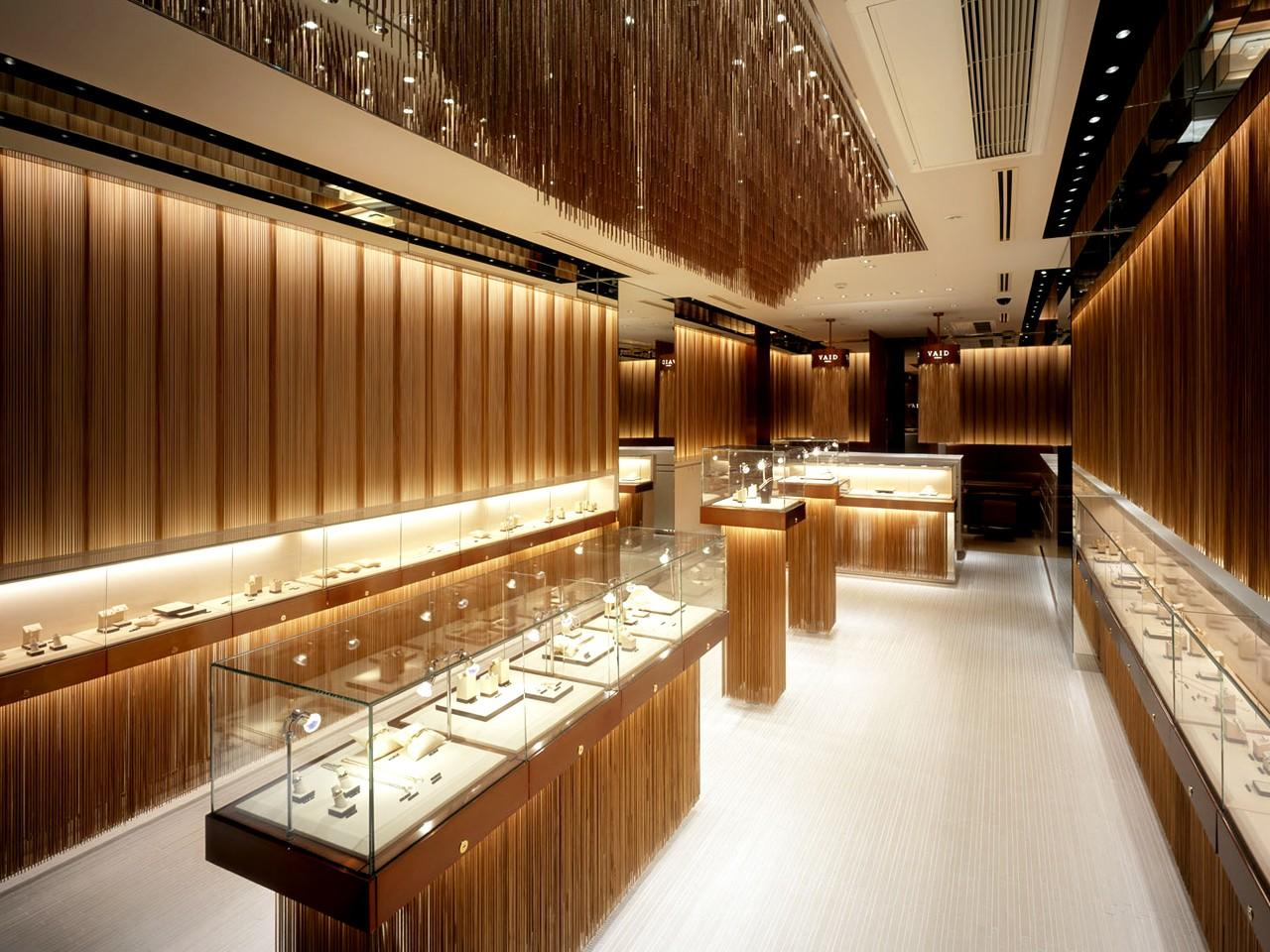 latest jewellery counter design OBM for shop OUYEE-3
