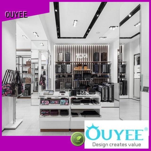 OUYEE high-quality sneaker shelves eye-catching for store