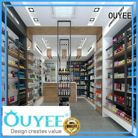OUYEE newest store fixtures vendor for store
