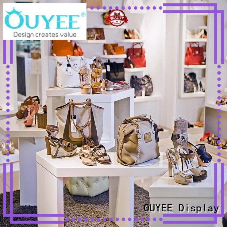 OUYEE high-end footwear shop display popular for business