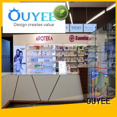Medical Shop Counter Design OY-PSD020