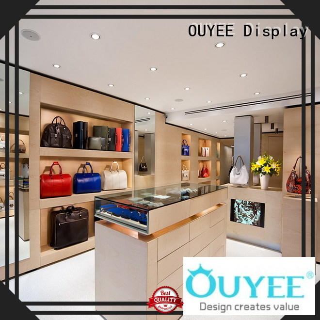 OUYEE chic shop counter for sale at discount for store