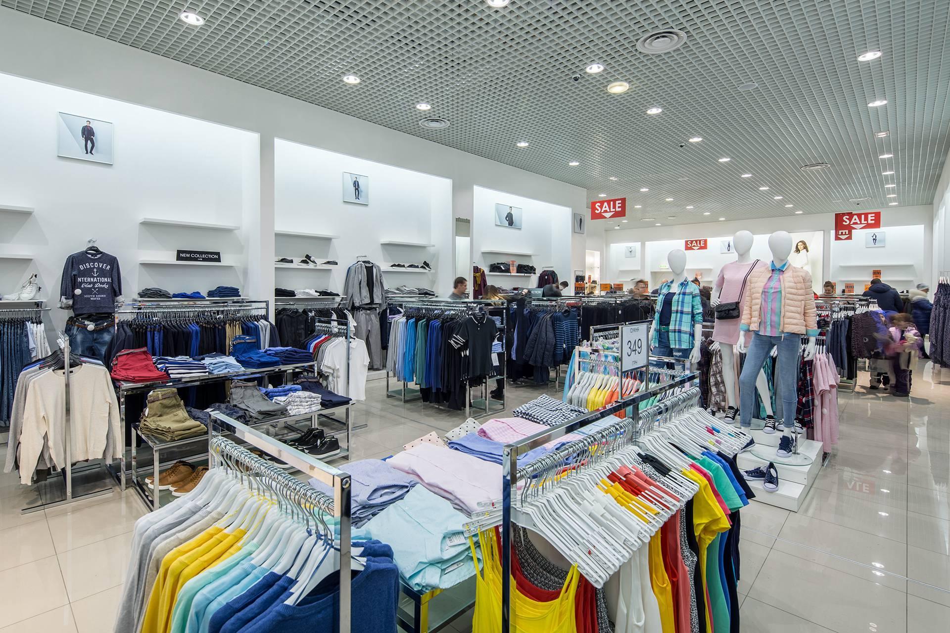 Custom Shop Design Ideas for Clothing OY-GSD018-1