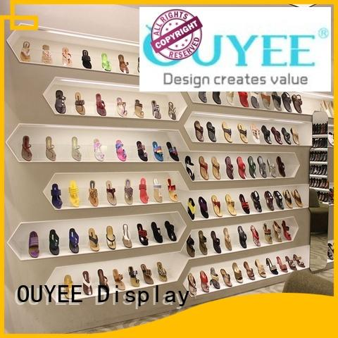 OUYEE high-end vertical shoe rack at discount for business