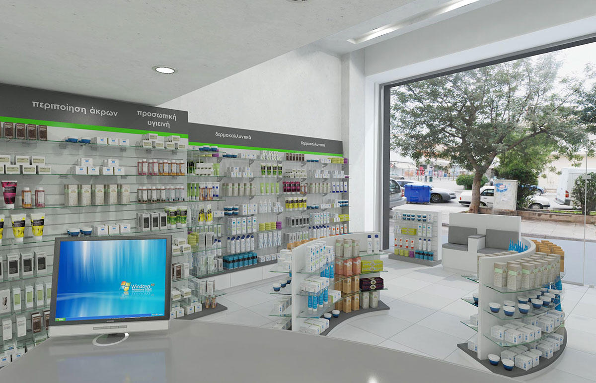 OUYEE modern medical shop counter fast delivery for shop-1