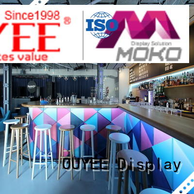kiosk coffee shop furniture sale shop Warranty OUYEE