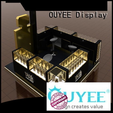 chic design perfume cabinet top brand at discount for supermarket