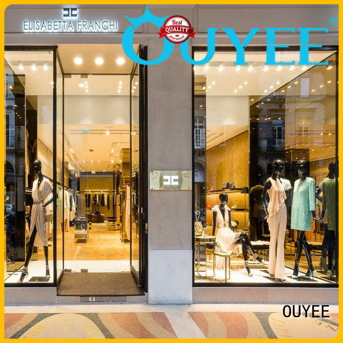 OUYEE high quality garments shop furniture universal for garment display