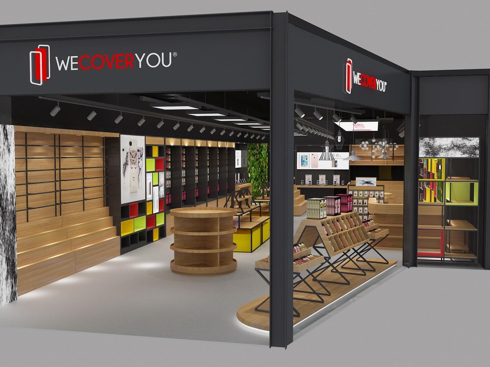 top brand mobile counter design showcase bulk production-1