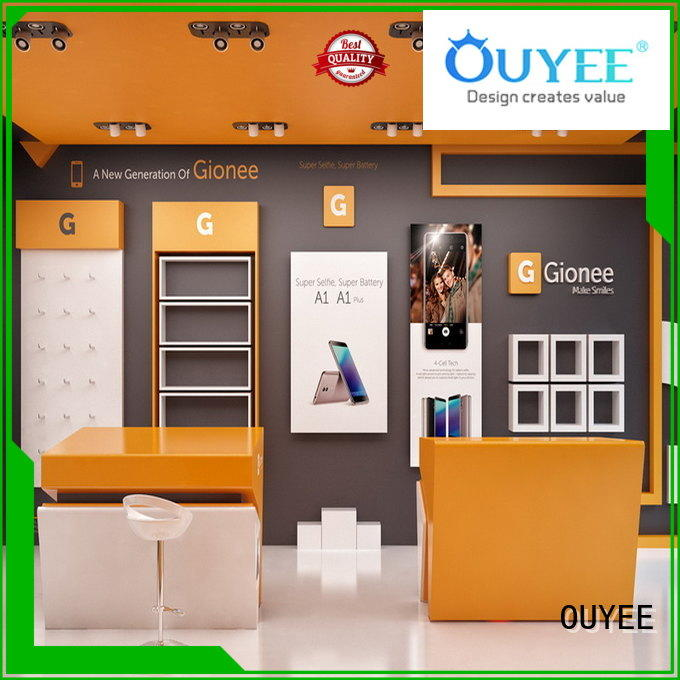 showcase mobile shop furniture design free delivery for electronics