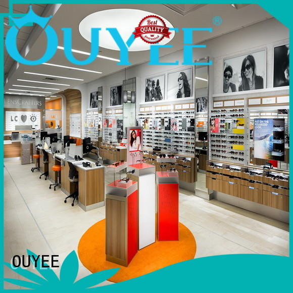 OUYEE universal eyeglass display case highly-rated for supplier