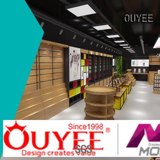 top brand mobile counter design showcase bulk production
