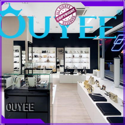 high-end handbag display stand at discount for store OUYEE