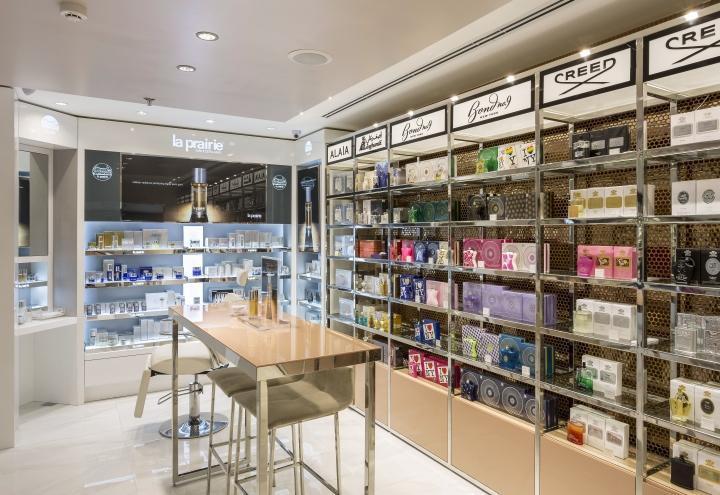perfume display showcase custom for store OUYEE-3