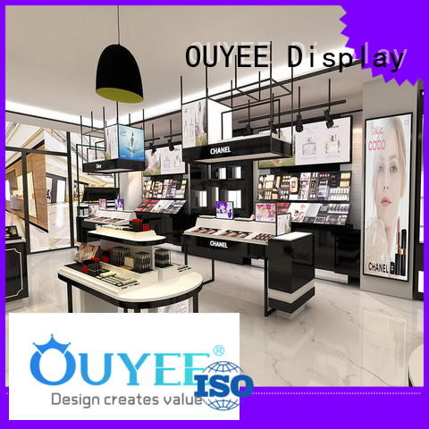 Hot makeup cosmetic shop showroom stand OUYEE Brand