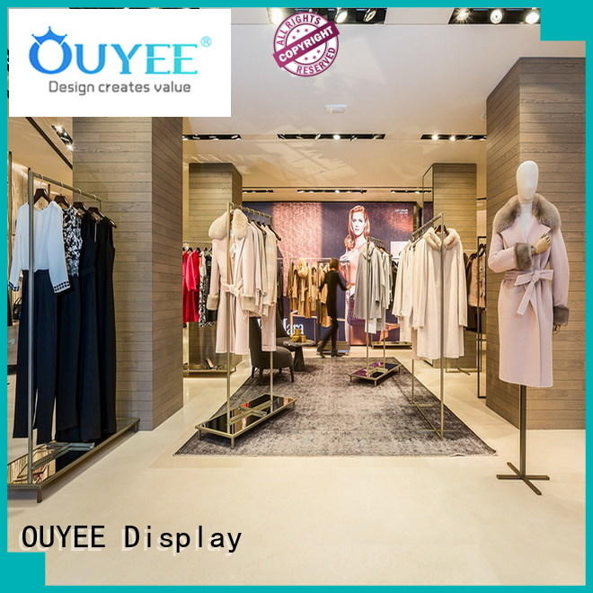 boutique clothing display racks clothing children highend OUYEE Brand company