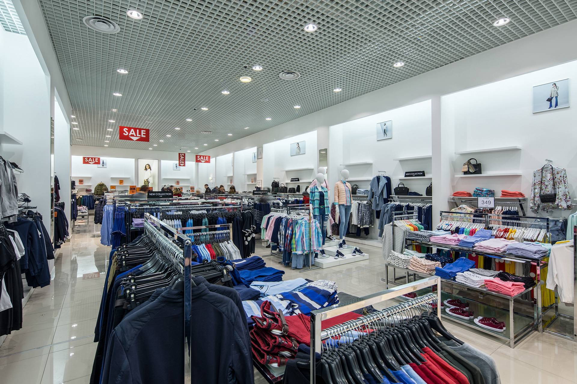 Custom Shop Design Ideas for Clothing OY-GSD018-2