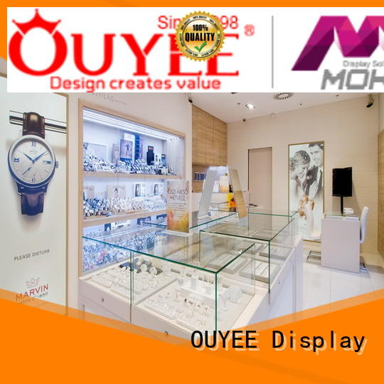 Hot jewellery shop design racks OUYEE Brand
