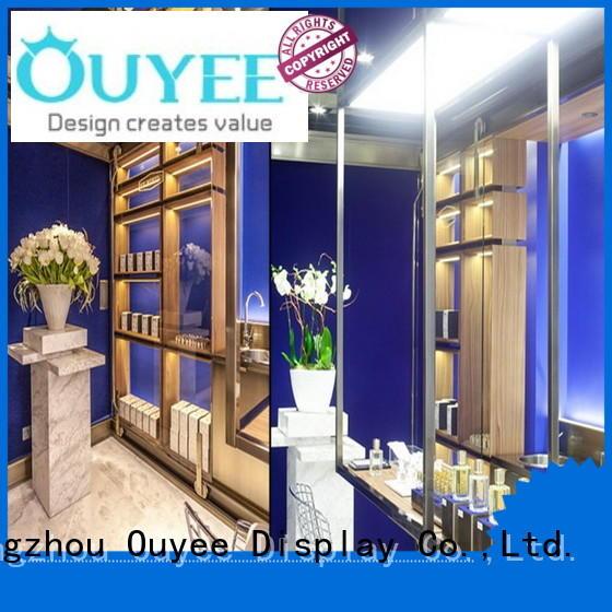 kiosk interior OUYEE Brand perfume stand