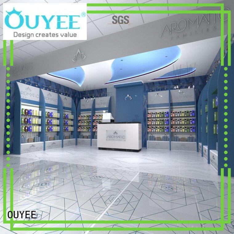 OUYEE durable store display shelves bulk production for supermarket