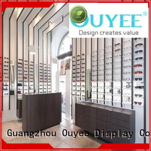 OUYEE wooden acrylic eyewear displays for wholesale for shop