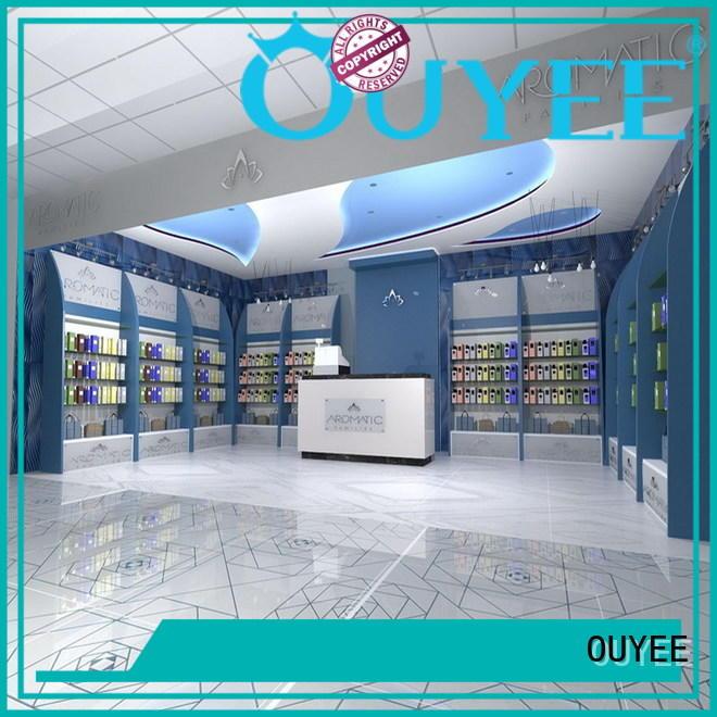 perfume rack stand showcase perfume stand OUYEE Brand