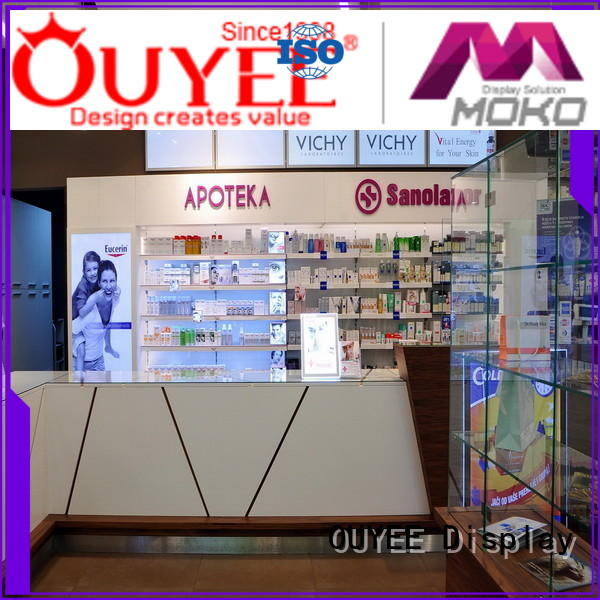 pharmacy layout pharmacy counter design display OUYEE company