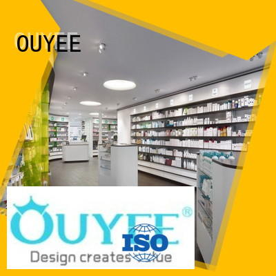 OUYEE top brand retail pharmacy floor plan bulk production for display
