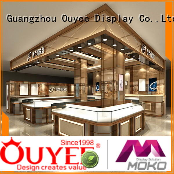 interior supplies jewellery shop design OUYEE Brand