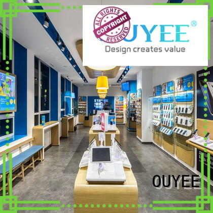 phone repair kiosk ideas displays electronic shop display cabinet OUYEE Brand