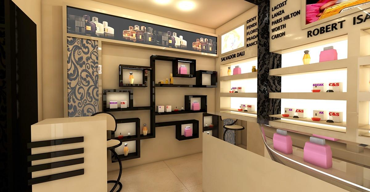 Perfume Shop Interior Design OY-PFD021-2