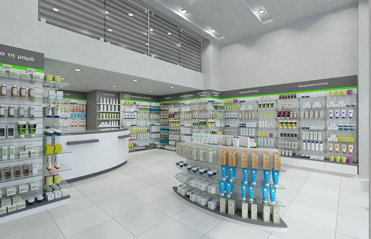 OUYEE modern medical shop counter fast delivery for shop-3