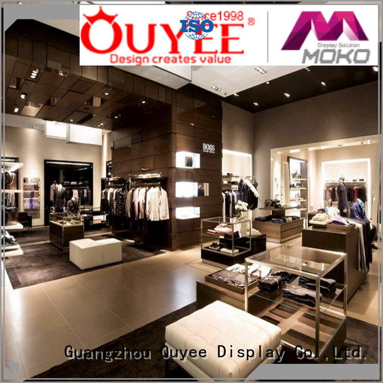shop decoration for clothes high qualityat discount for garment display