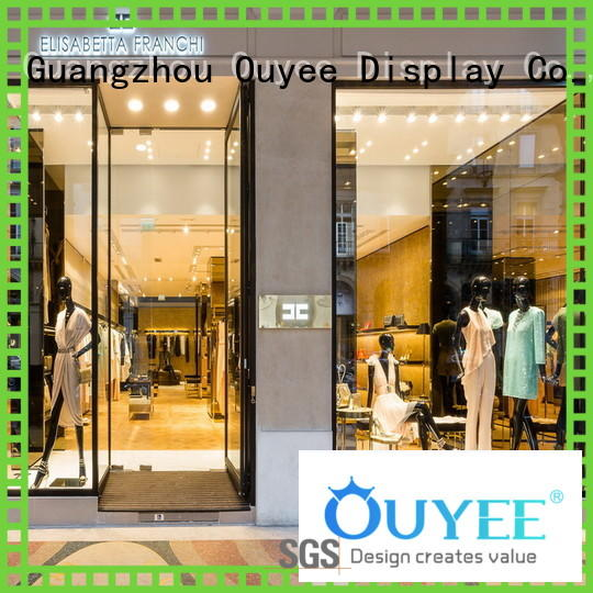 top brand clothes shop counter at discount for wholesale OUYEE