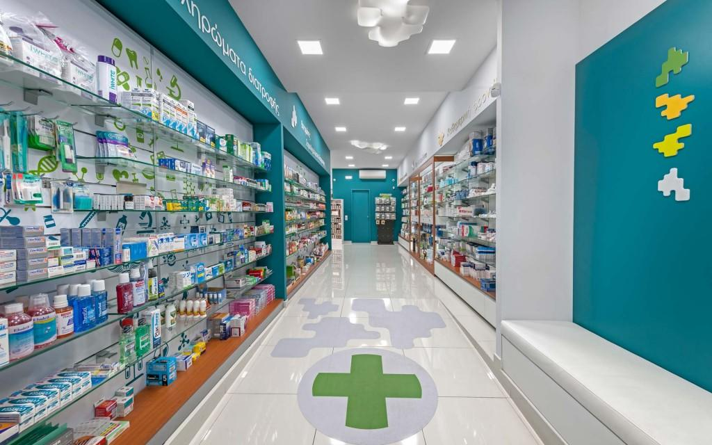 OUYEE durable medical store design fast installation for store-1