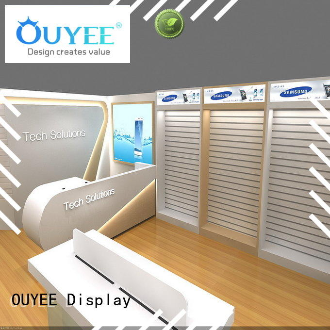OUYEE Brand computer ideas cell electronic shop display
