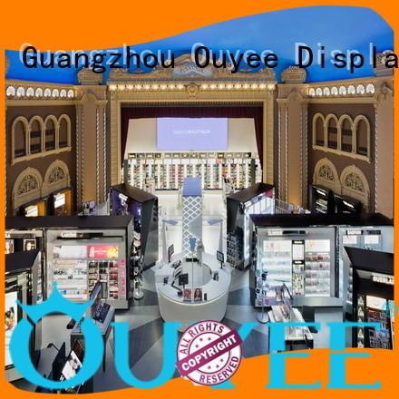 Hot cosmetic shop racks OUYEE Brand